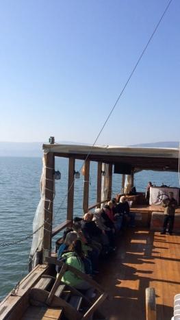 On Boat on Sea